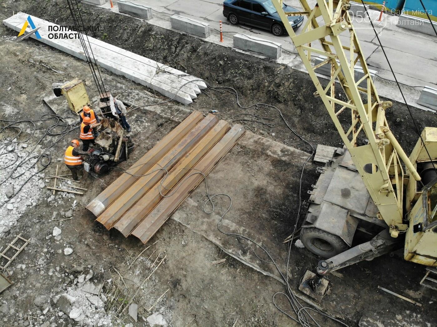 На Полтавщині ремонтують міст через річку Сула, фото-5