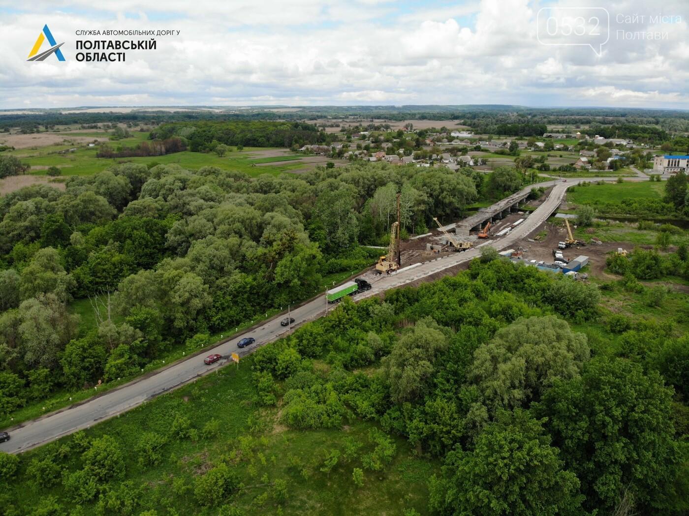 На Полтавщині ремонтують міст через річку Сула, фото-3