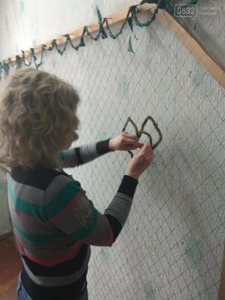 Полтавські волонтери відправили військовим на Схід маскувальні сітки ручної роботи, фото-3