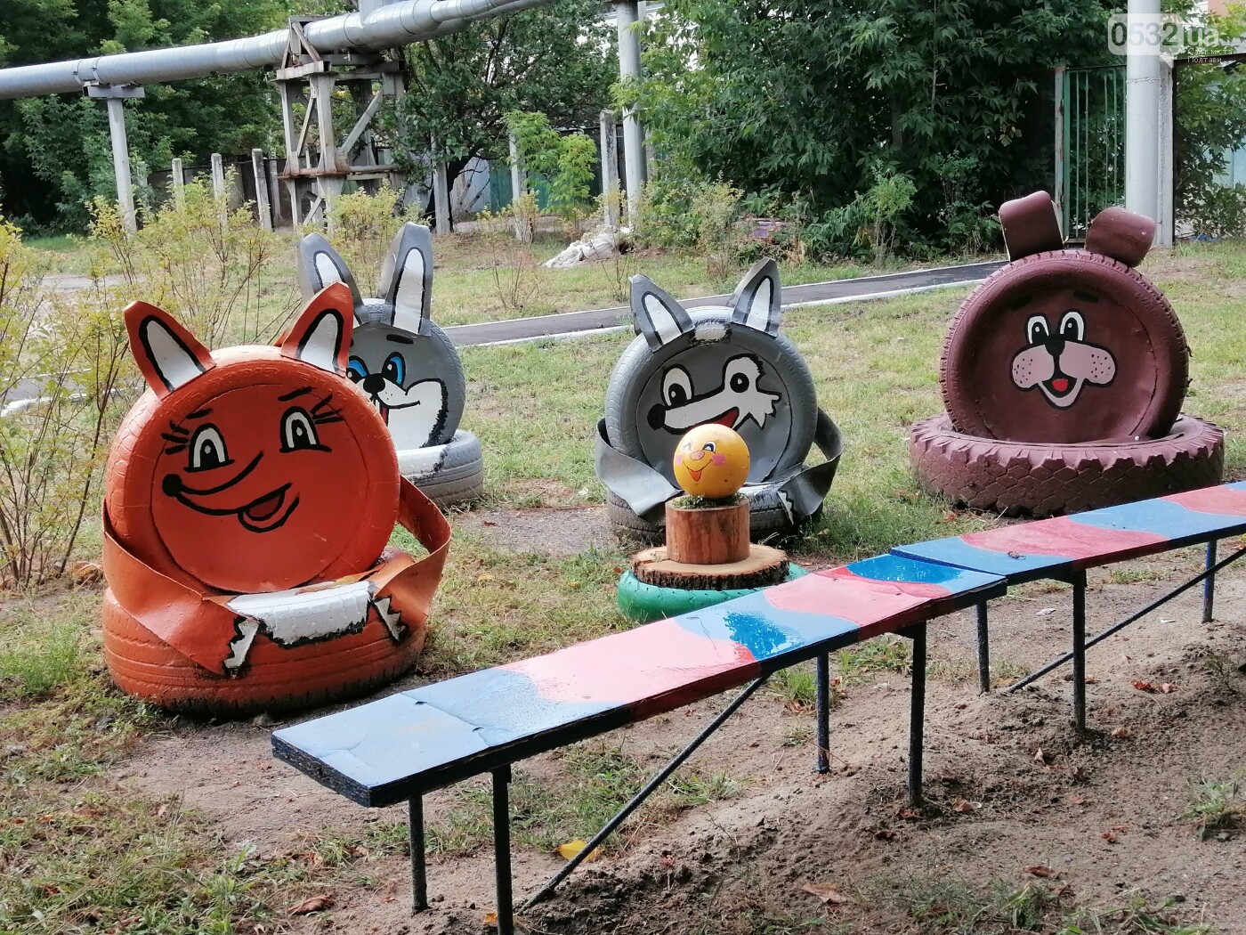 Територія дитячого садочка