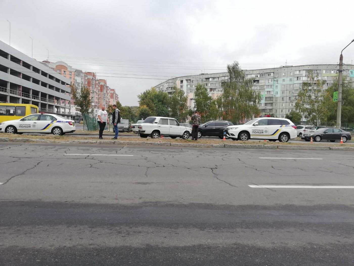 У Полтаві ВАЗ збив дівчину із велосипедом на пішохідному переході (ФОТО), фото-6