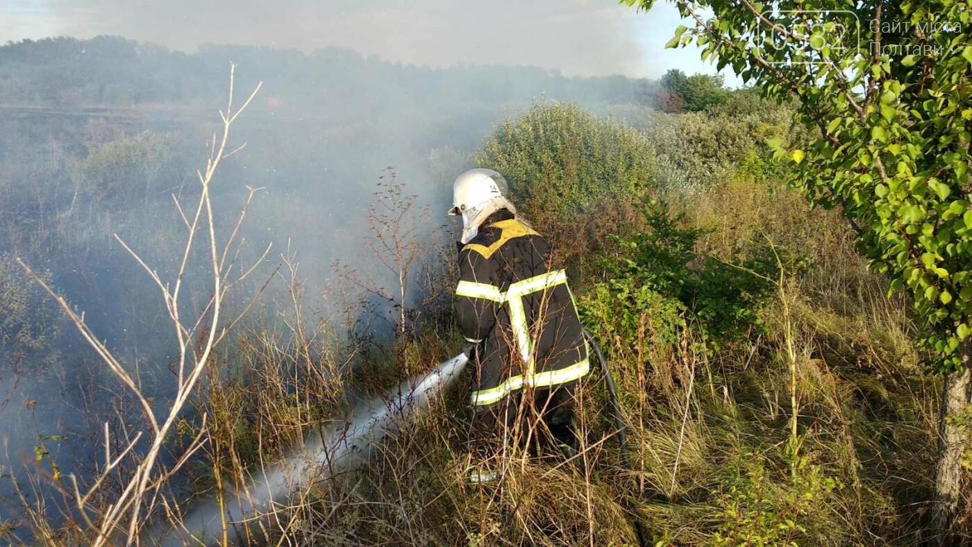 На Полтавщині за добу загасили 30 пожеж на відкритій території, фото-2