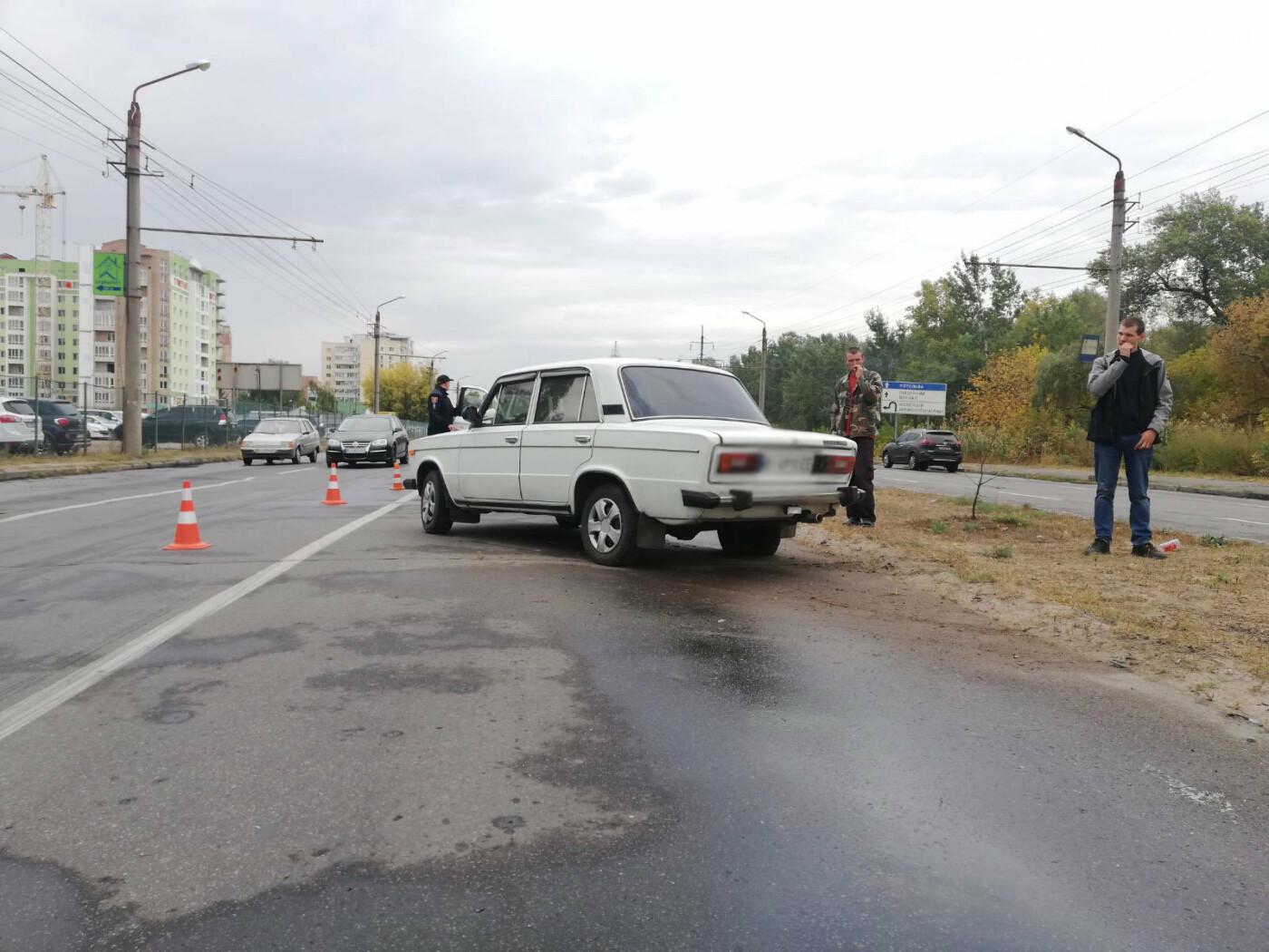 У Полтаві ВАЗ збив дівчину із велосипедом на пішохідному переході (ФОТО), фото-1