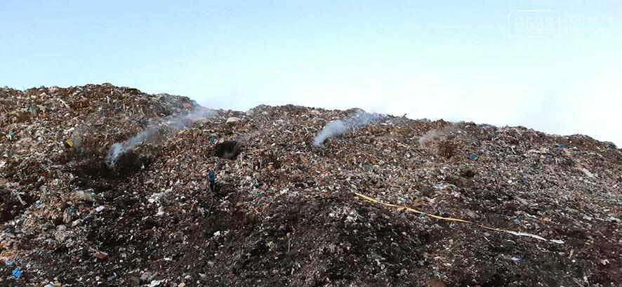 Під Полтавою знову горіло Макухівське сміттєзвалище, фото-1