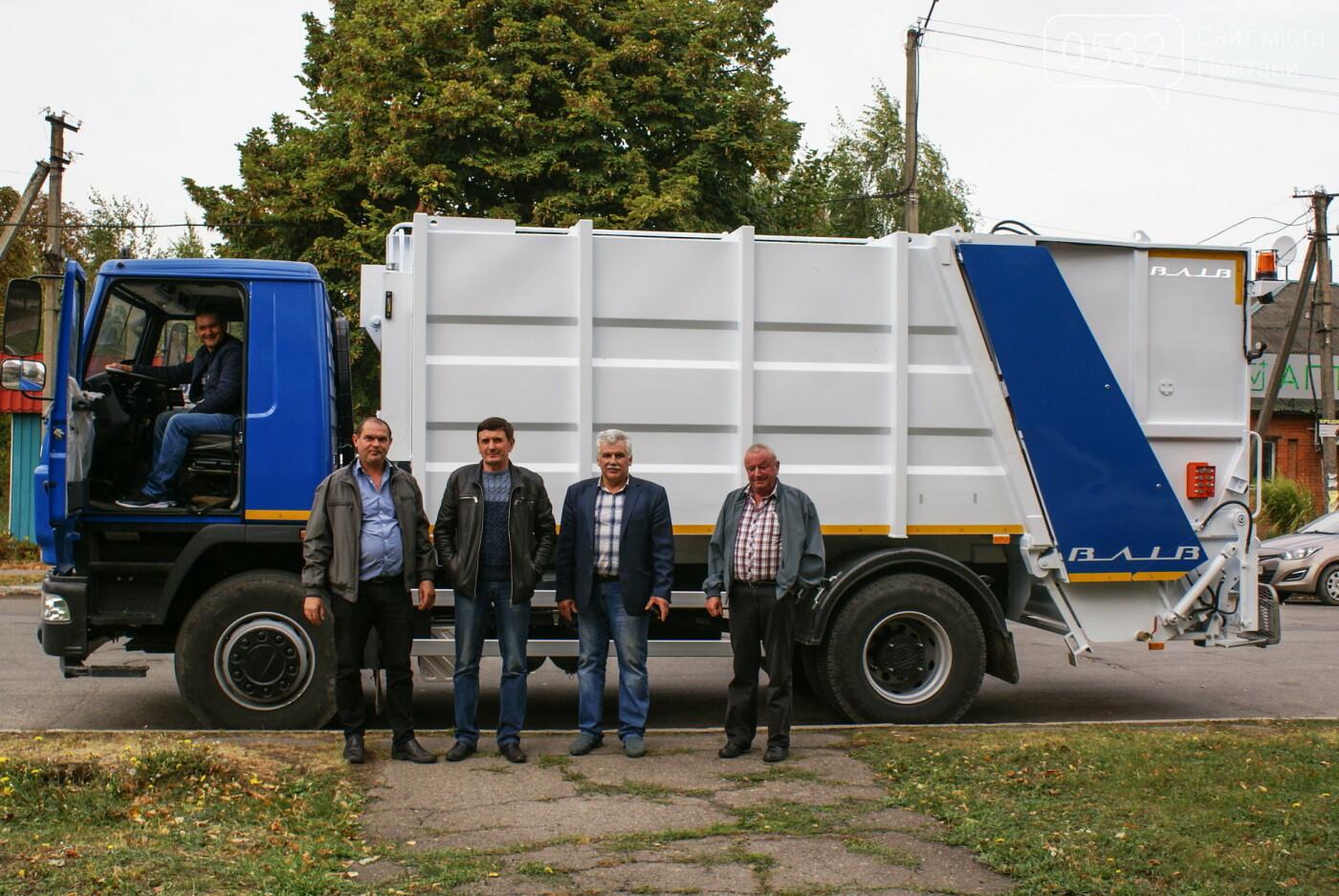 На Полтавщині родинні місця Кочубеїв прибиратиме техніка ВК «ВІВА», фото-2