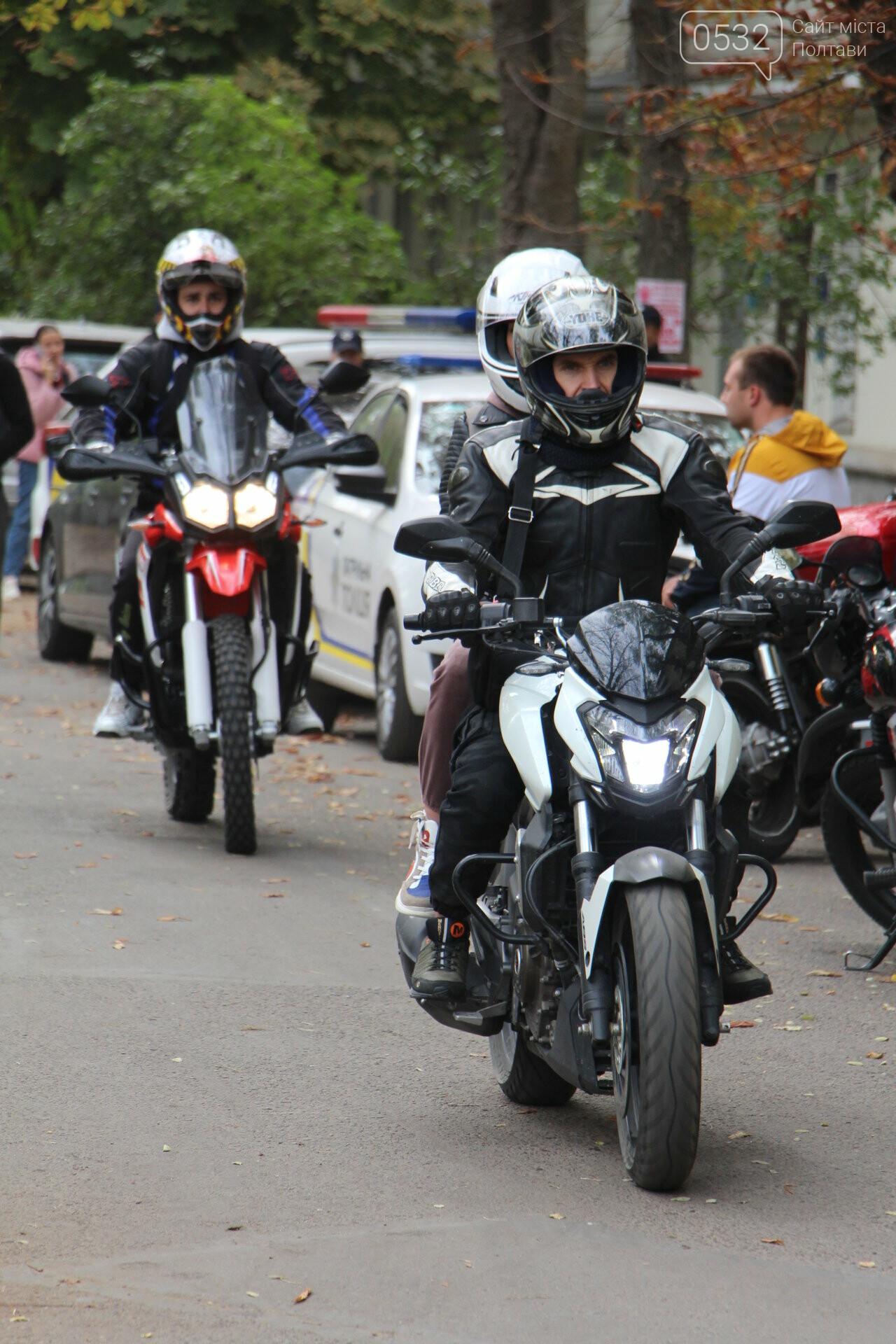 У Полтаві сотні байкерів приїхали на закриття мотосезону (ФОТОРЕПОРТАЖ), фото-5
