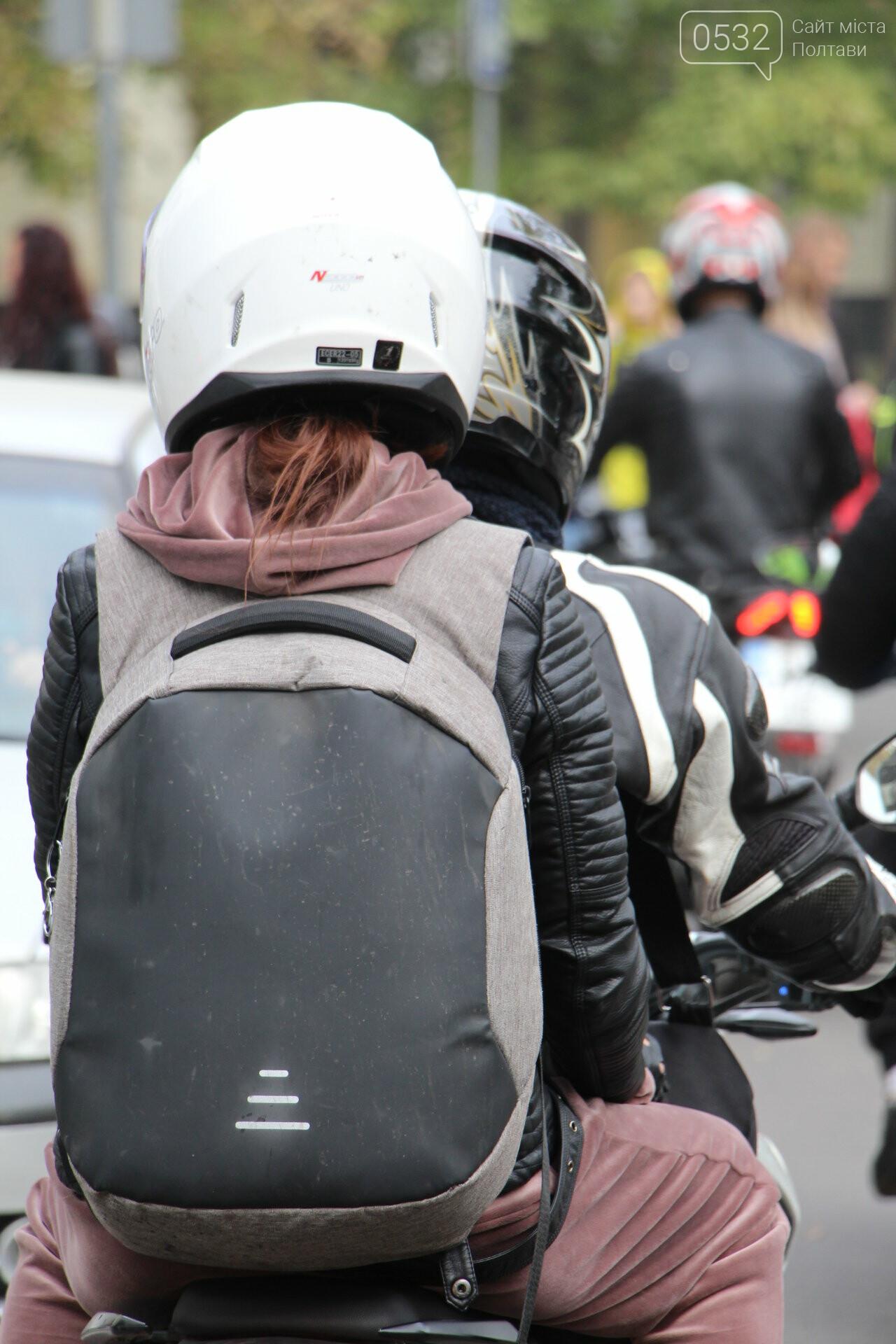 У Полтаві сотні байкерів приїхали на закриття мотосезону (ФОТОРЕПОРТАЖ), фото-4