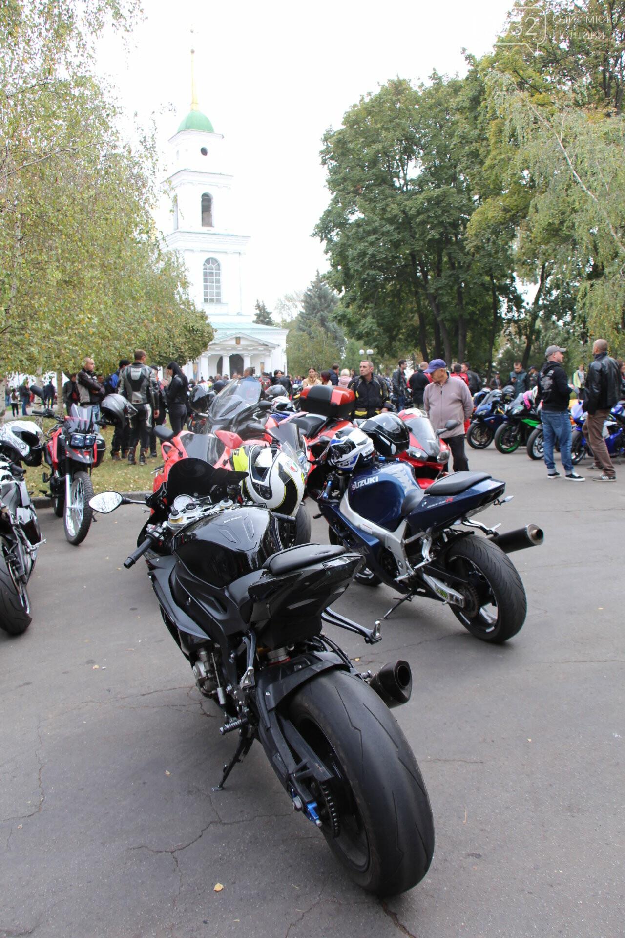 У Полтаві сотні байкерів приїхали на закриття мотосезону (ФОТОРЕПОРТАЖ), фото-8