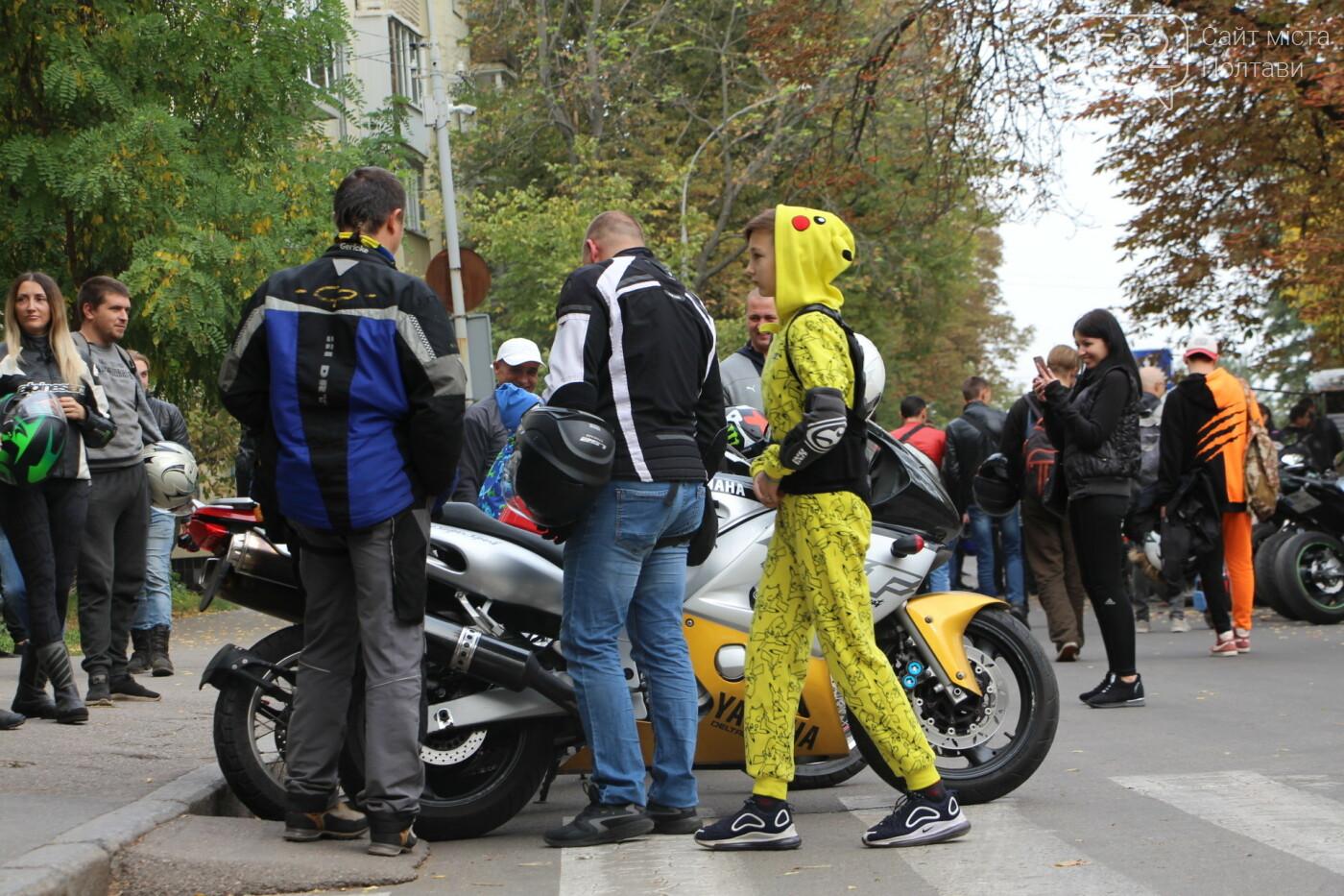 У Полтаві сотні байкерів приїхали на закриття мотосезону (ФОТОРЕПОРТАЖ), фото-7