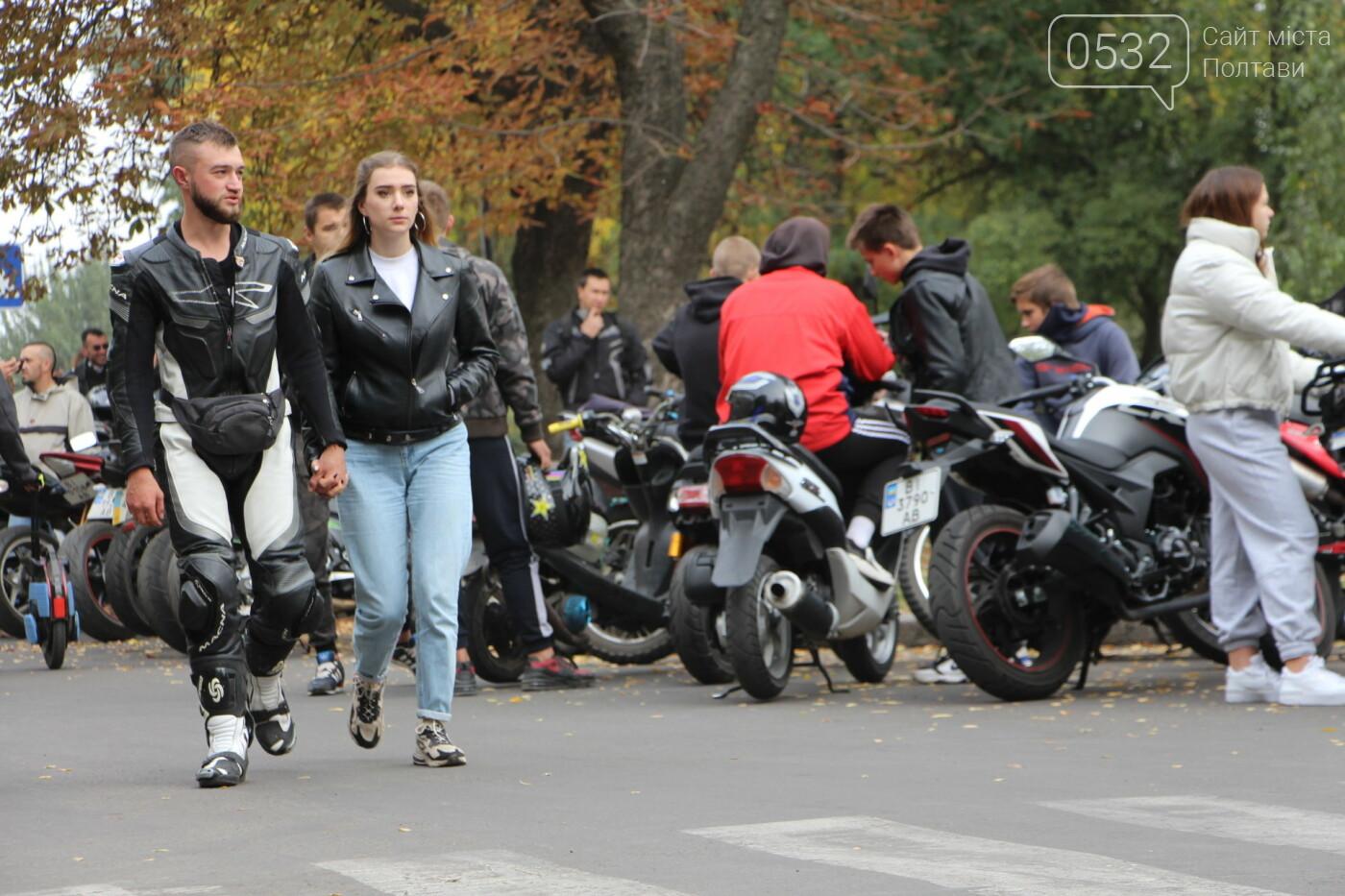 У Полтаві сотні байкерів приїхали на закриття мотосезону (ФОТОРЕПОРТАЖ), фото-10