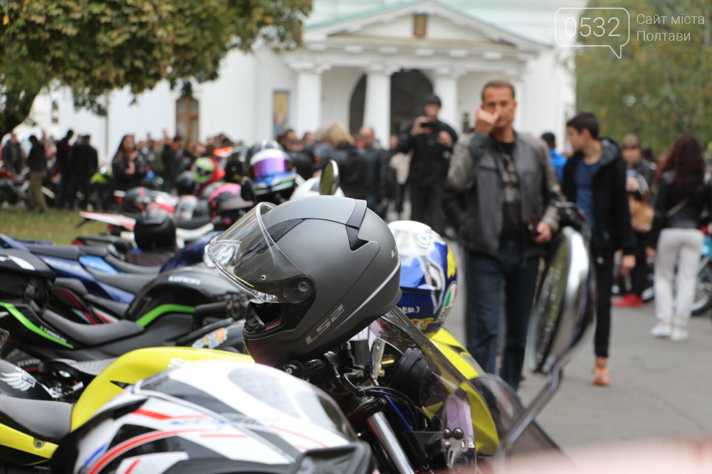 У Полтаві сотні байкерів приїхали на закриття мотосезону (ФОТОРЕПОРТАЖ), фото-11