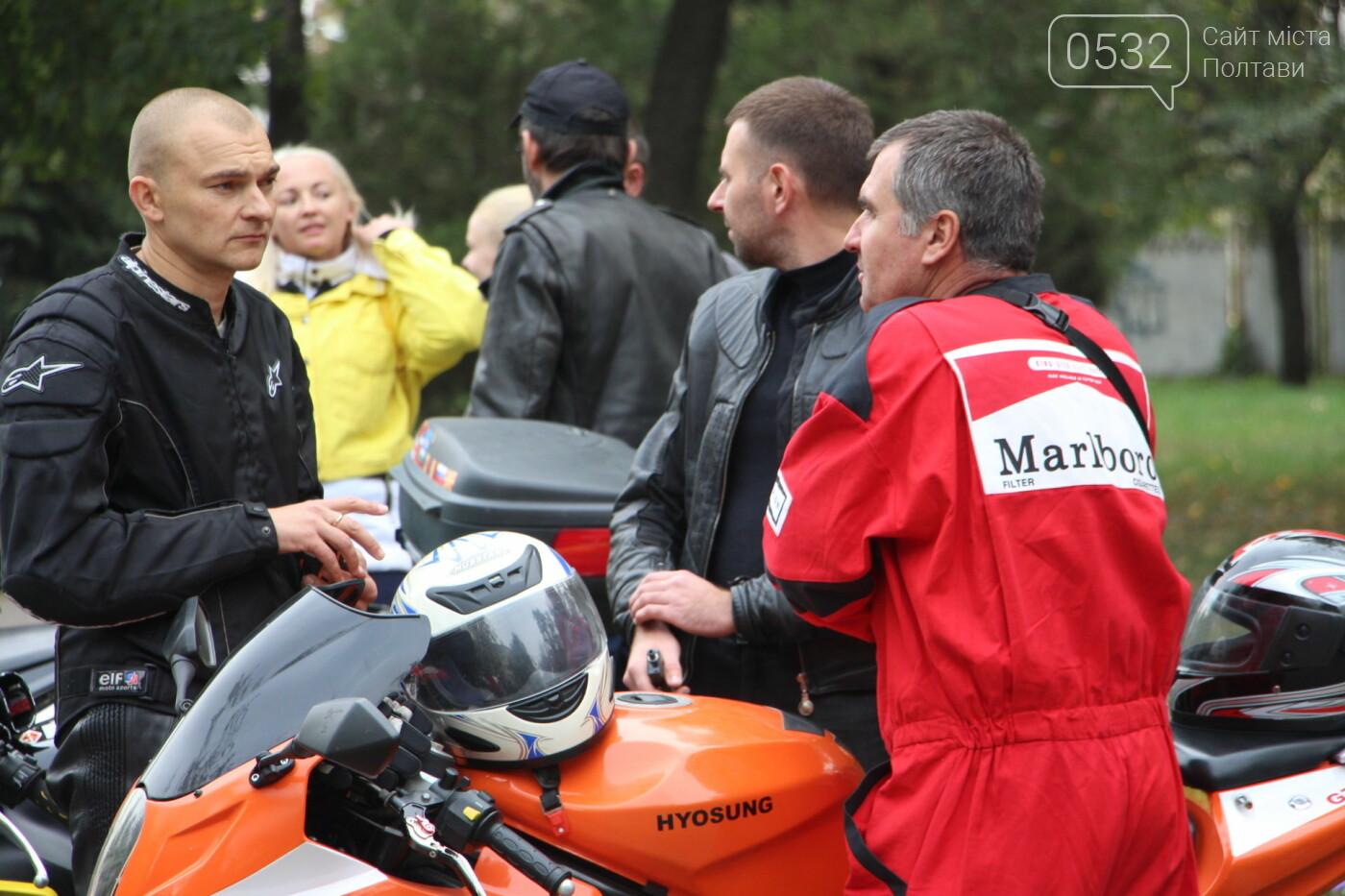 У Полтаві сотні байкерів приїхали на закриття мотосезону (ФОТОРЕПОРТАЖ), фото-12