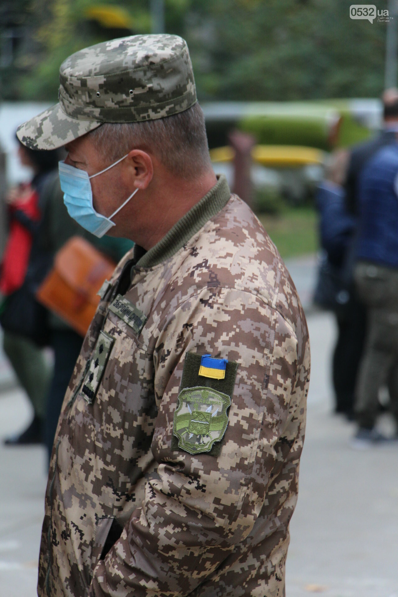 """У Полтаві відкрили """"Стіну пам'яті"""" загиблих за Україну воїнів (ФОТОРЕПОРТАЖ), фото-10"""
