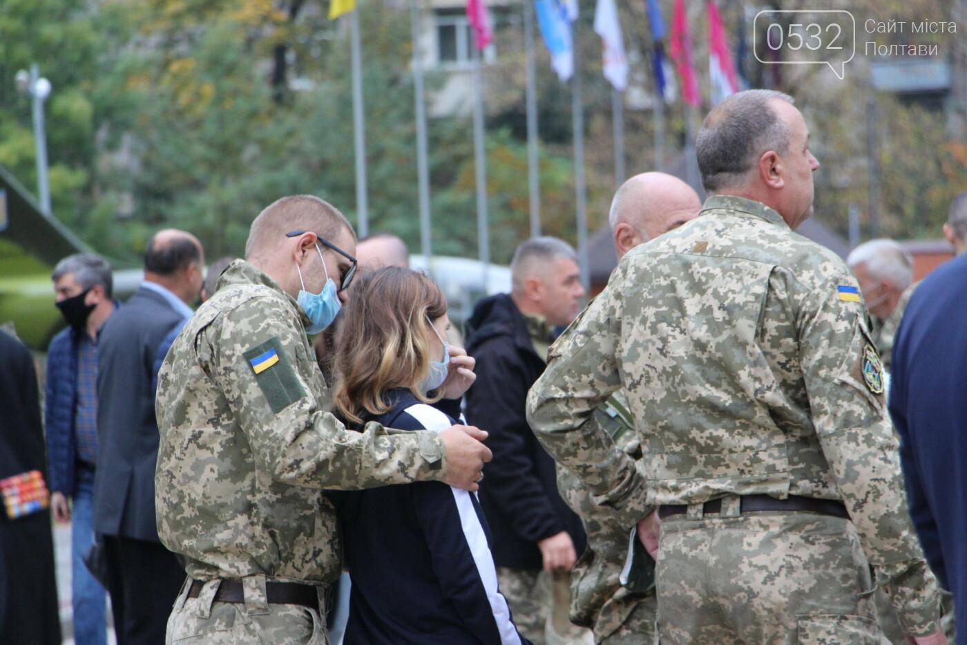 """У Полтаві відкрили """"Стіну пам'яті"""" загиблих за Україну воїнів (ФОТОРЕПОРТАЖ), фото-9"""