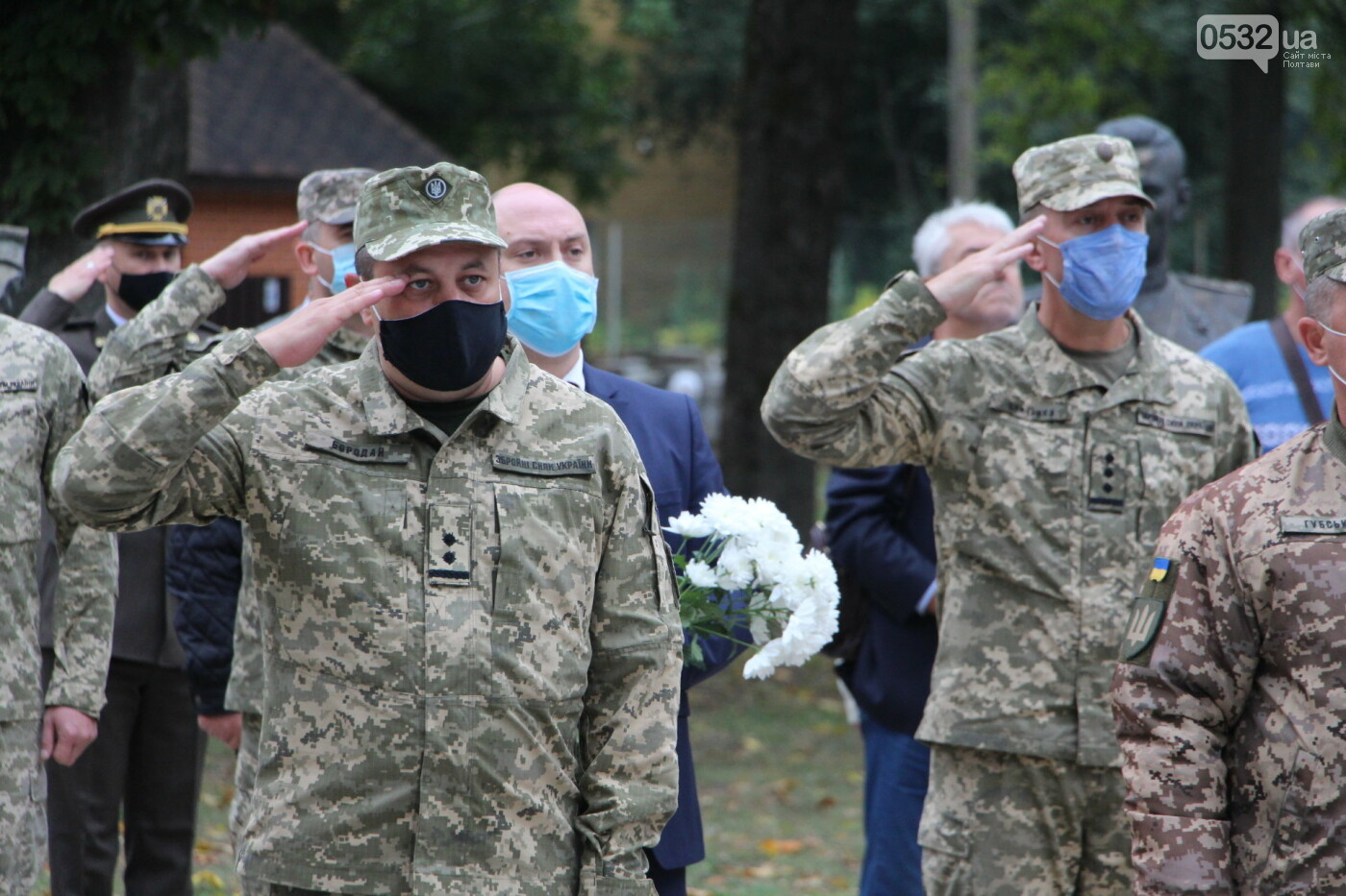 """У Полтаві відкрили """"Стіну пам'яті"""" загиблих за Україну воїнів (ФОТОРЕПОРТАЖ), фото-22"""