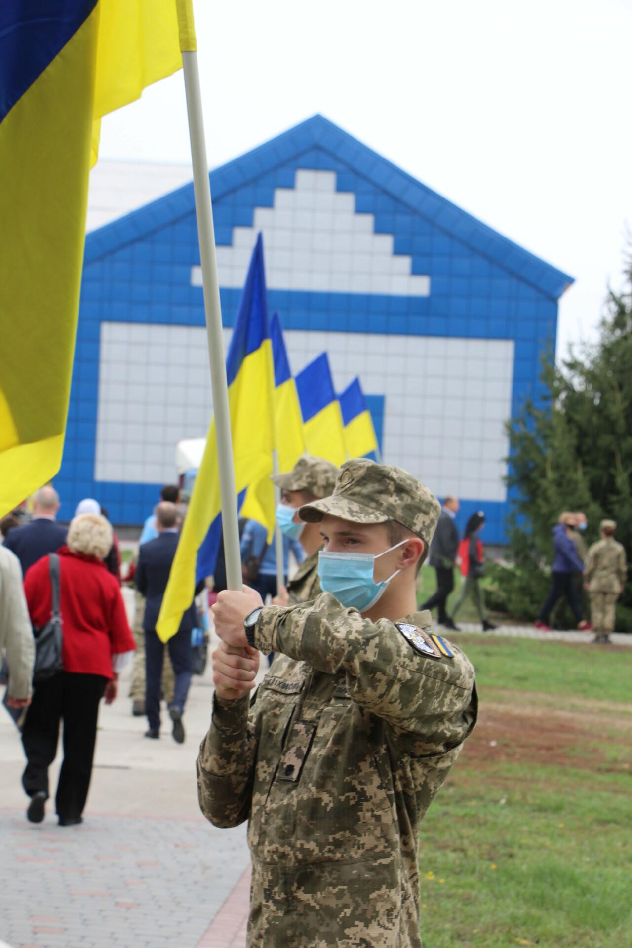 """У Полтаві відкрили """"Стіну пам'яті"""" загиблих за Україну воїнів (ФОТОРЕПОРТАЖ), фото-29"""