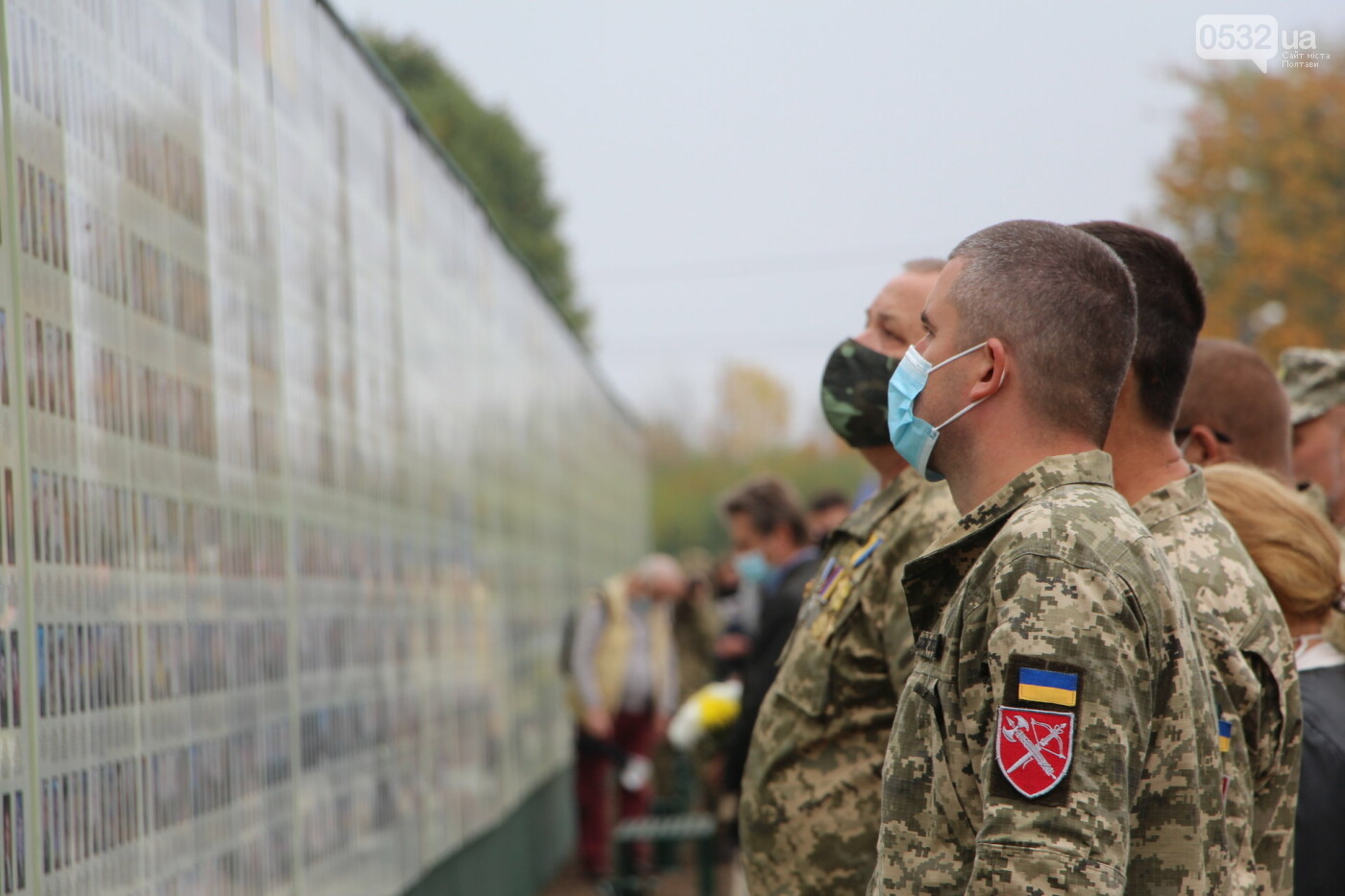 """У Полтаві відкрили """"Стіну пам'яті"""" загиблих за Україну воїнів (ФОТОРЕПОРТАЖ), фото-34"""