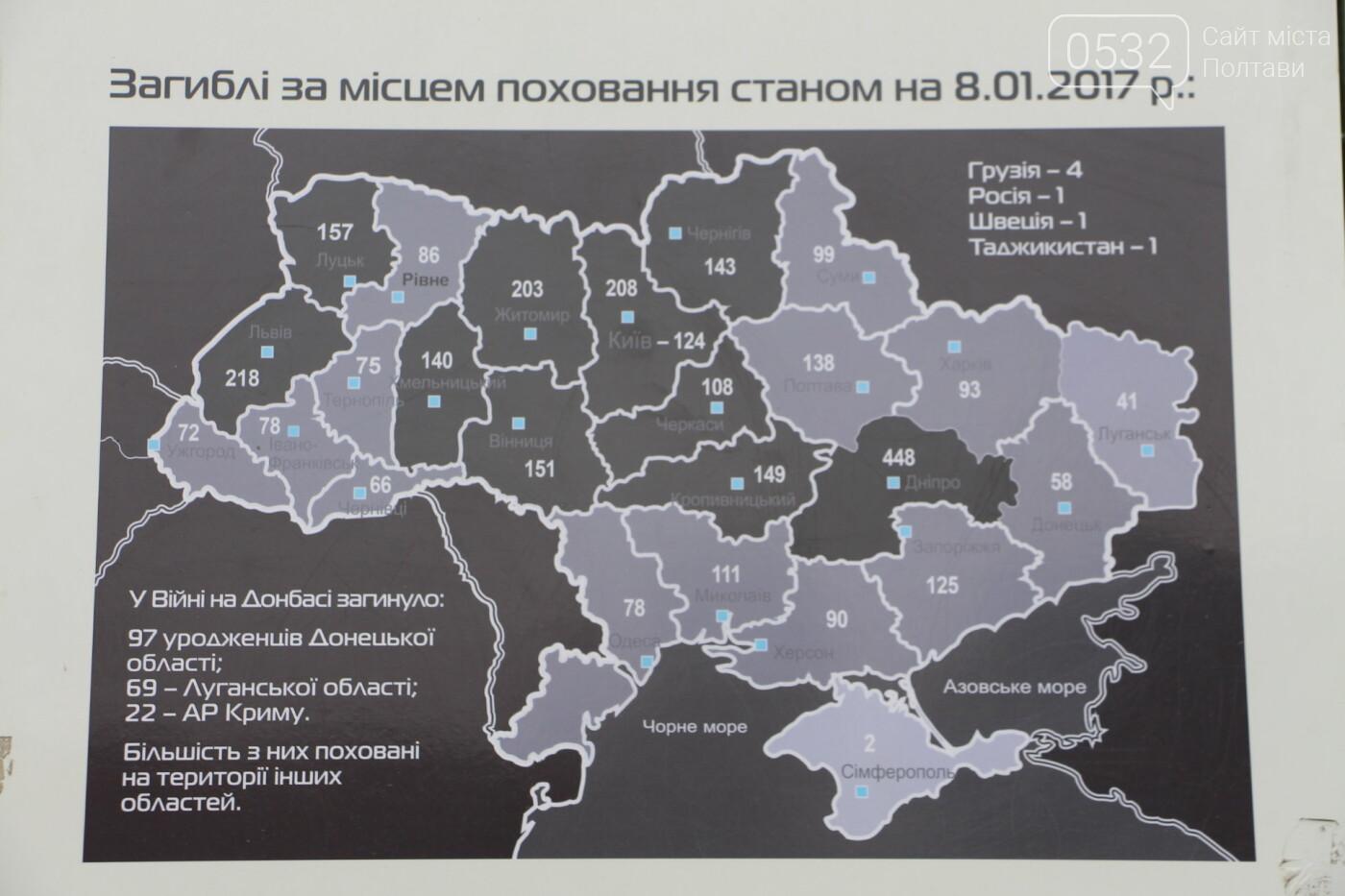 """У Полтаві відкрили """"Стіну пам'яті"""" загиблих за Україну воїнів (ФОТОРЕПОРТАЖ), фото-5"""