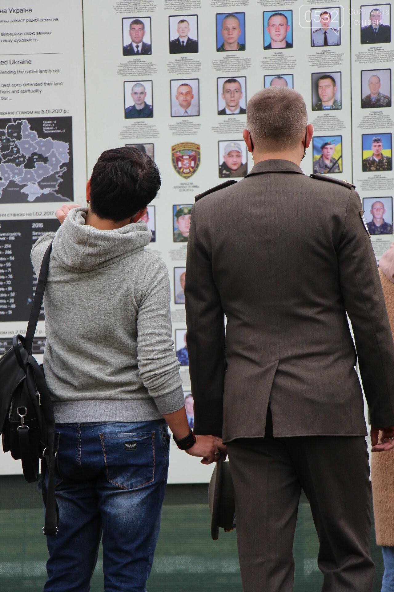 """У Полтаві відкрили """"Стіну пам'яті"""" загиблих за Україну воїнів (ФОТОРЕПОРТАЖ), фото-37"""