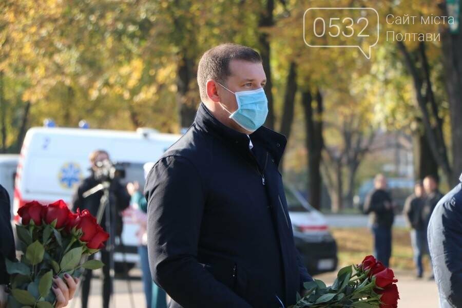 З нагоди 76-ї річниці вигнання нацистів з України до Меморіалу Солдатської Слави поклали квіти, фото-6