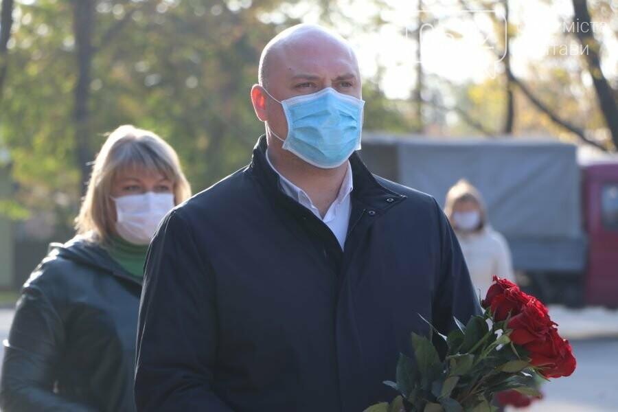 З нагоди 76-ї річниці вигнання нацистів з України до Меморіалу Солдатської Слави поклали квіти, фото-7