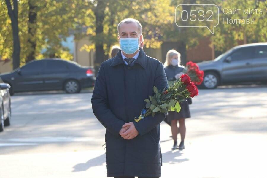 З нагоди 76-ї річниці вигнання нацистів з України до Меморіалу Солдатської Слави поклали квіти, фото-9