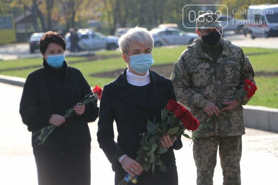 З нагоди 76-ї річниці вигнання нацистів з України до Меморіалу Солдатської Слави поклали квіти, фото-8