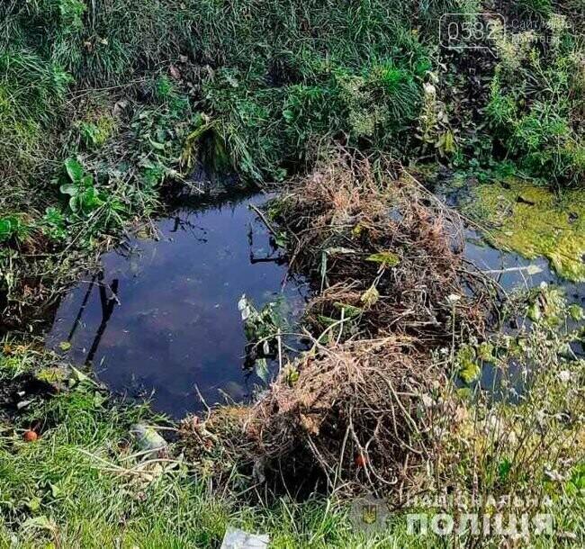 У Миргороді затримали хлопця, який зарубав сокирою дівчину, а тіло сховав біля кладовища в ставку, фото-1