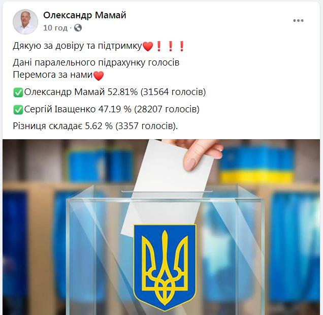 Сергій Іващенко визнав свою поразку на виборах у Полтаві, фото-2