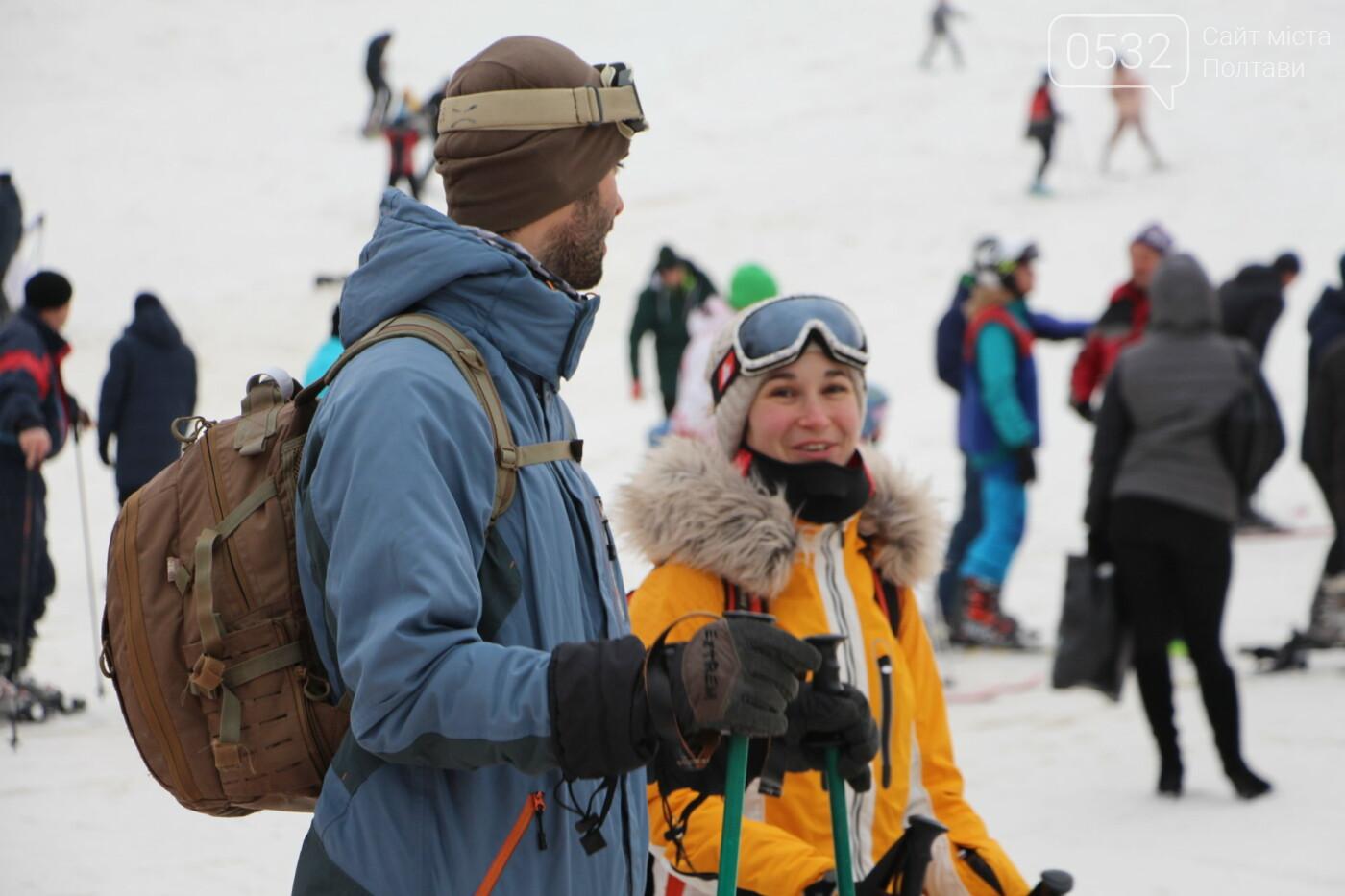 """Знайшли сніг під Полтавою: справжня зимова атмосфера у """"Сорочиному яру"""" (ФОТО), фото-1"""