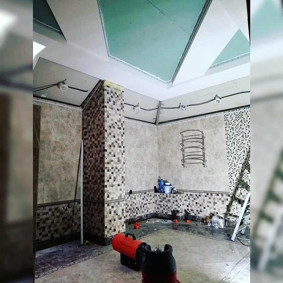 """""""вверхНогами"""" - натяжні стелі в Полтаві, фото-1"""