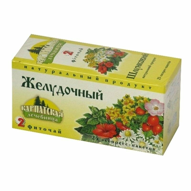 Травяные чай для желудка 124