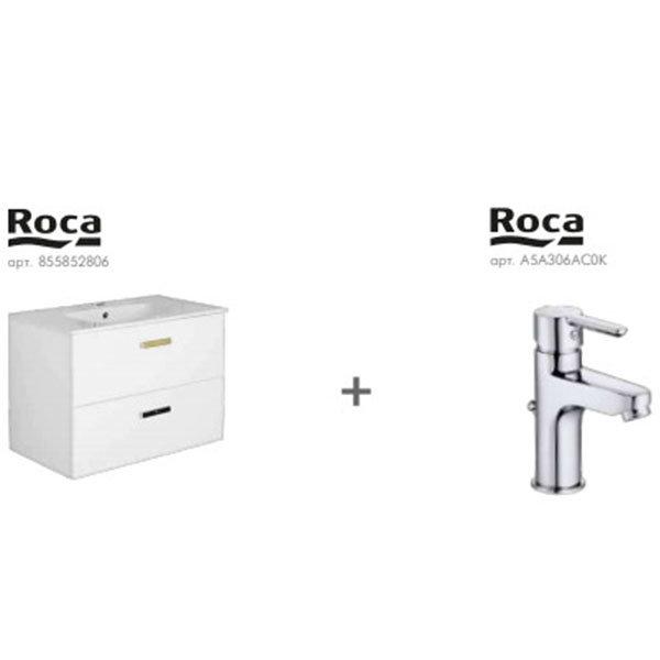 Комплект тумба з умивальником Roca Victoria