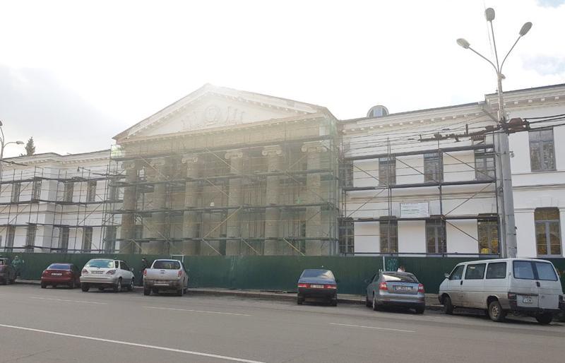 У Полтаві вартість реставрації Малої академії мистецтв зросла у 1,5 рази